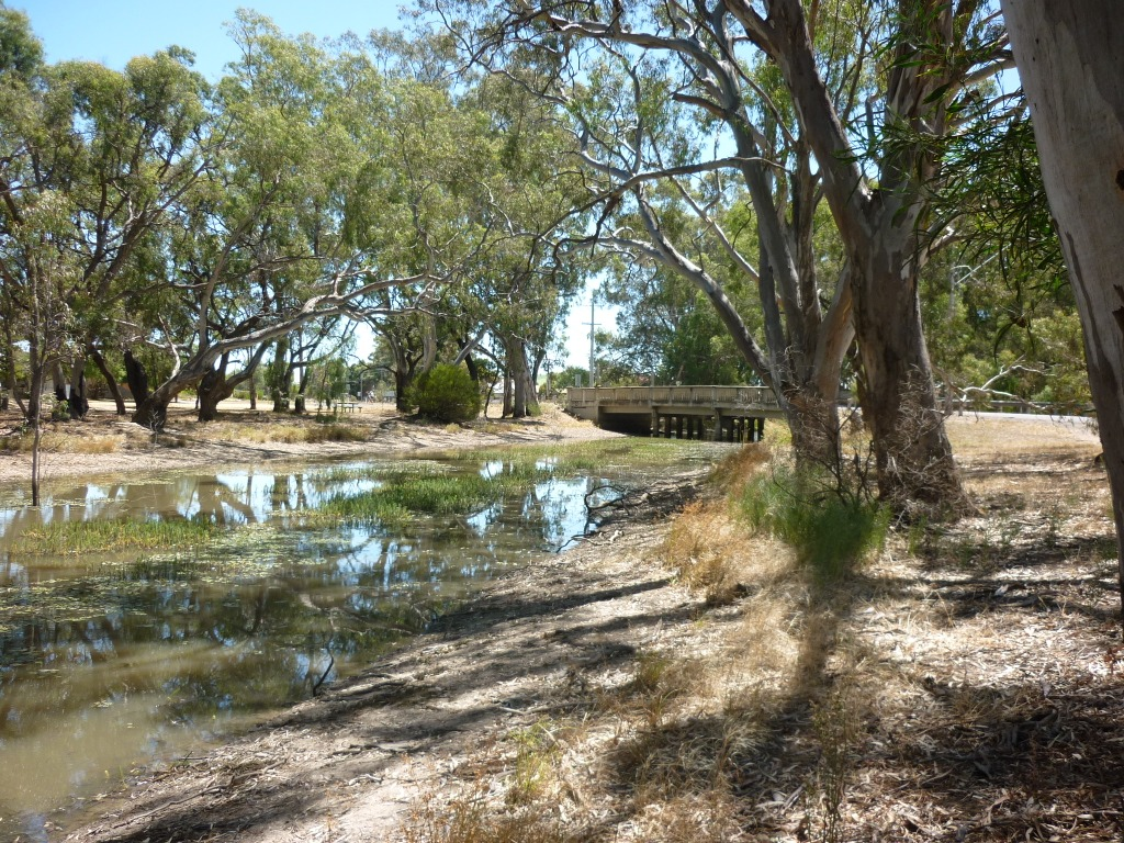 Yarriambiack Ck at Apex Park Warracknabeal